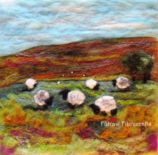 Eleven Sheep Landscape