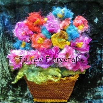 Silk Flower Basket